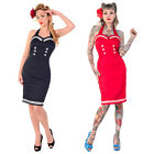 Nautical Sailor Rockabilly Vintage 50s Pinup Party Pencil Fancy Dress