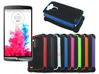 Dual Layer Hybrid Armor Rugged Hard Case for LG G3