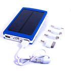 Hot 30000mAh Universal Solar Dual USB Portable Panel Battery Charger Power Bank