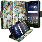 Hybrid Wallet Credit Card Stand Flip Case Cover For ZTE Phones ZMax XMax+ Elite