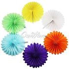 Honeycomb Fan Tissue Paper Pompoms Party Wedding Supplies Home Room Decorations