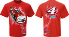 2015 KEVIN HARVICK #4 BUDWEISER RED HOT WIRED NASCAR TEE SHIRT