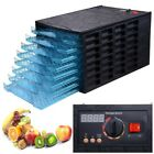 Electric 8 Tray Food Dehydrator Meat Fruit Dryer 40Hr Timer Home Jerky Blower cheap