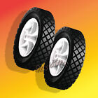 "2 Plastic Wheels 7"" X 1.50"" Bore: 9/16 Fits Snapper/Kees Mowers Front Wheel"