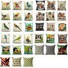 Hot Vintage Cotton Linen Pillow Case Sofa Waist Throw Cushion Cover Home Decor