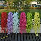 1* Artificial Silk Wall Hanging Winter Jasmine Flower Plant Home Party Decor