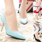 Fashion Slim High HEELS PUMPS STILETTO Sexy Pointy Toe Evening Office Lady Shoes