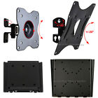 "Tilt Swivel/ Flat TV Wall Mount Bracket for Samsung Vizio 19 22 24 28/32 40"" LED"