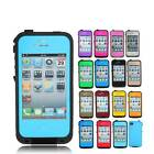Waterproof Shockproof Dirt Proof Durable Hard Cover Case For Apple iPhone 4S 4