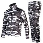 Mens Womens Running jogging Track Suit warm up pants jackets gym training wear Y