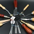 Sewing Leather Craft Tools Kit 13 pcs Hand Punch Skiving Knife Groover BBB