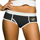 Missouri Tigers Ladies Black Team Logo Boy Briefs