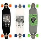 "SAFARI LONGBOARD 39"" Drop-through 91cm Skateboard das perfekte Bord zum Cruisen"