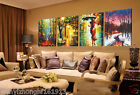 4 PCS Large Modern Abstract Art Oil Painting Wall Decor canvas NO frame