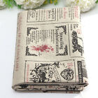 Variety Retro European Style Natural Cotton Linen Fabric Cloth DIY Patchwork NEW