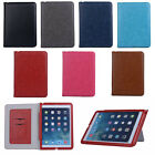 New Luxury Soft Leather Smart Case Stand Magnetic Cover for iPad Mini 1/2/3 Air2