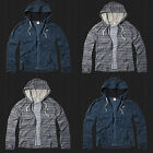 NWT 2015 Hollister By Abercrombi​e Men Pattern Hooded T Shirt Hoodie All Sizes
