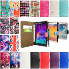Multicolored Leather Flip Wallet Case Cover For Samsung Galaxy Notes+Free Stylus