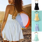 Sexy Womens Summer Casual Sleeveless Evening Cocktail Short Mini Dresses Party