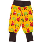 BNWT Baby Boys Maxomorra Monster Baby Trousers NEW Organic Cotton Pants