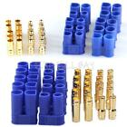 5 Pairs Male Female EC3 EC5 Type Battery Connector Gold Bullet Plug E0Xc