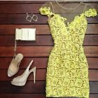 Summer Women Short Mini Lace Dress Prom Evening Party Cocktail Bridesmaid New