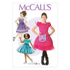 McCall's 7112 Sewing Pattern to MAKE Pretty Girls' Dresses & Cat Bag