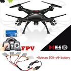 SYMA X5SW-1 RC Quadcopter Drone 6-Axis W/ HD FPV Wifi Camera Helicopter Headless