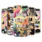 HEAD CASE ALL ABOUT MUSIC CASE IN GEL PER APPLE iPOD TOUCH 5G 5TH GEN