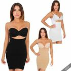 Underbust Full Body Shaper Vest Top Slip Bum Lift Slimming Waist Cincher Control