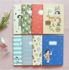 Du-dum Illustration Cute Notebook School Line Journal Scrap Writing Memo Diary