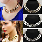 Fashion Women Lady Pendent Chain Necklace Statement Choker Party Jewelry Gift HJ