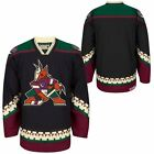 Men's CCM Black Arizona Coyotes Classic Throwback Jersey