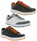 Hi-Tec HT Combi Mens Leather Spikeless Waterproof Golf Sneakers Trainers Shoes