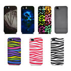For Apple iPhone 5S 5 Colorful Design Set 5 Hard Case Snap On Cover Accessory