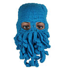 Fashion Unisex Winter Warm Knitted Wool Ski Face Mask Hat Squid Cap Special
