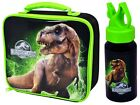 OFFICIAL JURASSIC WORLD PARK INSULATED LUNCH BAG, BOTTLE OR SET SCHOOL KIDS GIFT