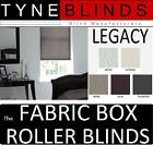 The FABRIC BOX - LEGACY made to measure ROLLER BLINDS - straight edge