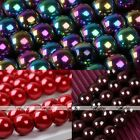 1 Strand Magnetic Hematite Round Loose Ball Beads Charm Fit Jewelry Making DIY