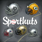 2 NFL FOOTBALL HELMET CEILING LIGHT FAN PULL CHAIN MADE by RIDDELL SPORTHUTS