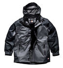REDUCED DICKIES JACKET COAT BREATHABLE WATERPROOF HOOD MULTI POCKET SIZE ASPEN