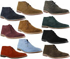 Mens Red Tape Gobi Genuine Suede Lace Up Casual Desert Boots Sizes 6 to 12