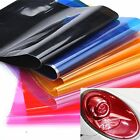 "8 color Light Smoke HeadLight Taillight Tint Vinyl Film Sheet Sticker 12"" x 24"""
