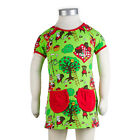 BNWT Girls JNY Design Picnic Tunic Top NEW Green Organic Cotton Dress