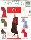 McCalls 4167 Misses Jackets & Skirts Sewing Pattern ***