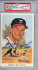EDDIE MATHEWS PSA/DNA Auto Perez-Steele Celebration Braves HOF Autograph