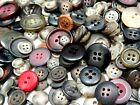 9-23mm 25/50/100/200/500grams ASSORTED COLOR VARIOUS SIZE ACRYLIC BUTTON BW08946