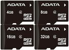Original Adata 4GB/8GB/16GB/32GB MicroSD SDHC TF Memory Card Class4 phone tablet