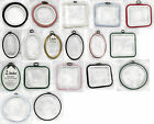 Flexi-hoop Embroidery Hoops - Various Sizes and colours