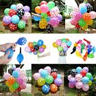 "10,20,100 Optional 12"" Polka Dot Latex Balloon Birthday Baby Shower Wedding Spot"